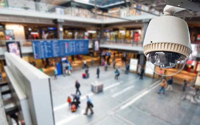видеонаблюдение в аэропорте